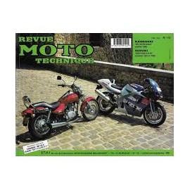 REVUE TECHNIQUE RMT GSXR600 97-00 KAWA BN125