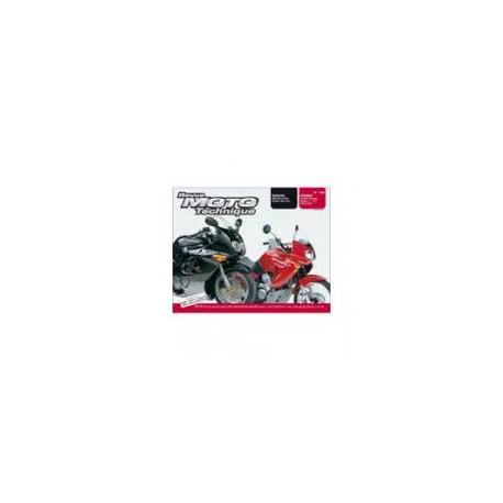 REVUE TECHNIQUE RMT SUZ GSX600/750F HONDA XL650V