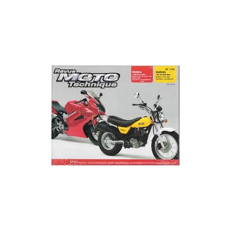 REVUE TECHNIQUE RMT RV125 03-04 CARB VFR800VTEC 02