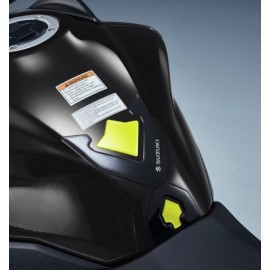 PROTECTION DE RESERVOIR NOIR-JAUNE GSX-S 750